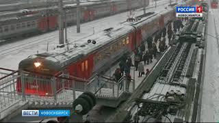 Новосибирские пригородные поезда начнут ходить по новому расписанию