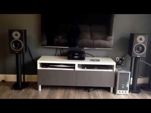 Marantz  M-cr610 with dynaudio DM 2/7 speakers