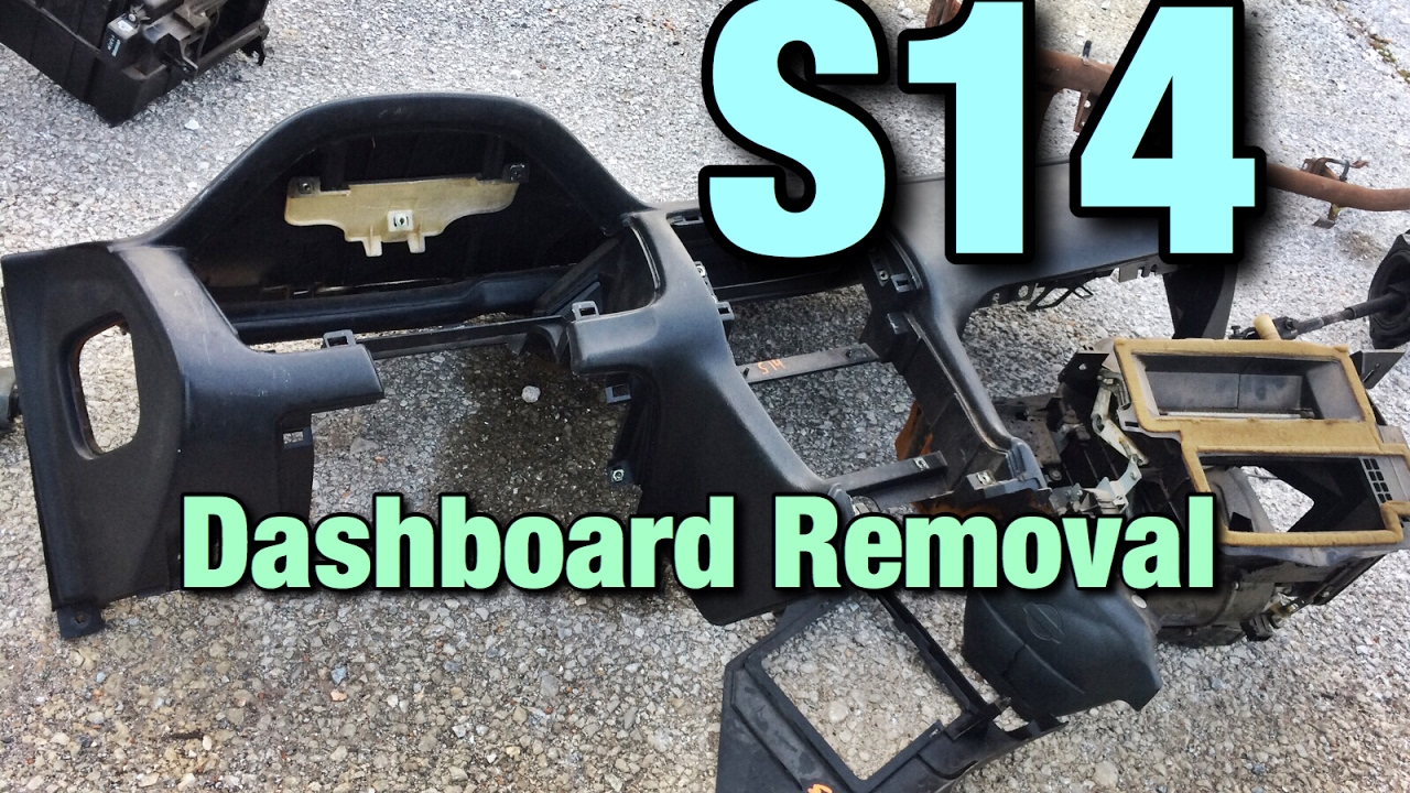 s14 240sx dashboard removal youtube Replacing Electrical Fuses s14 240sx dashboard removal Heat Pump Fuse Box
