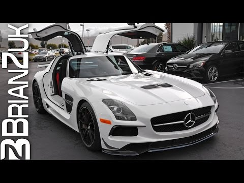 Picking Up Brand New Mercedes SLS AMG Black Series