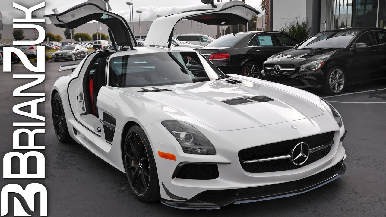 picking up brand new mercedes sls amg black series youtube
