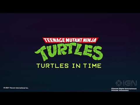 Turtles in Time & Street Fighter 2   Official Arcade1up Cabinets Reveal Trailer  Summer of Gaming from CanadianCJ