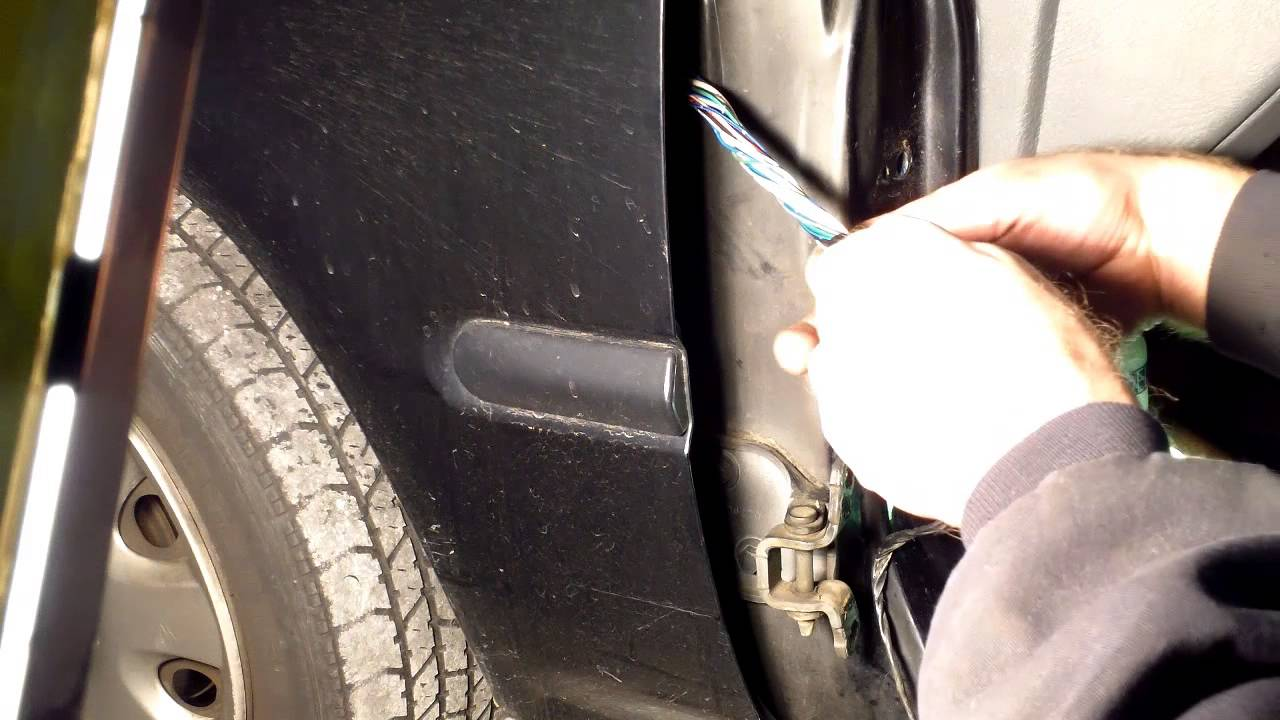 Part3 Honda civic Door harness repair, How to repair a