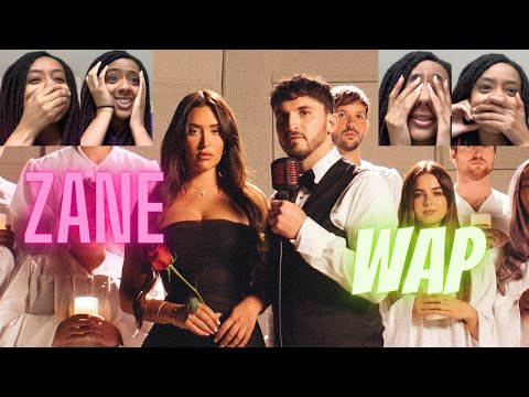 Zane - WAP (Official Music Video Cover) | REACTION!