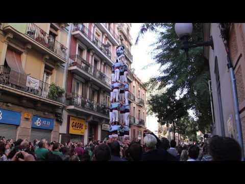 Castellers del Poble Sec - 4d8  PG -  Diada de Tardor (15-XI-15)
