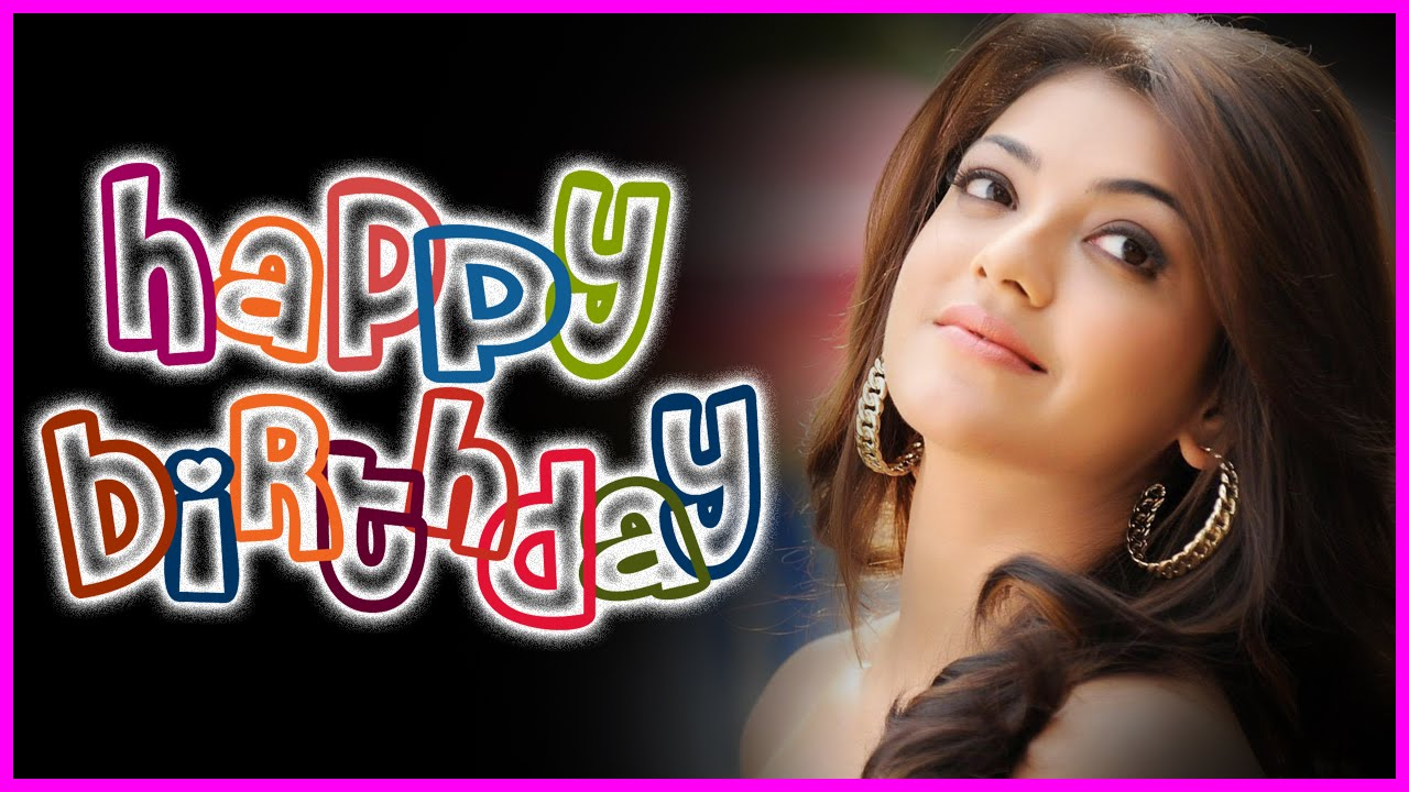 Happy birthday Kajal Aggrawal HD wallpaper