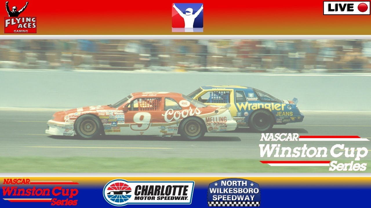 NASCAR Live: WINSTON CUP RACING: 1987: Flying Aces: 1 July 2020