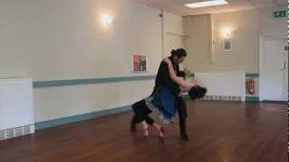 Tango Lesson - safe Dip