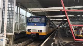 [4K] Dubbele NSR SGMm vertrekt uit Station Duivendrecht!
