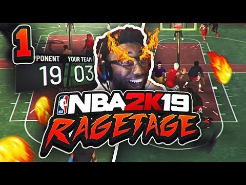 NO WAY 2K REALLY DID THIS TO ME!! NBA 2K19 RAGETAGE / STREAMTAGE #1