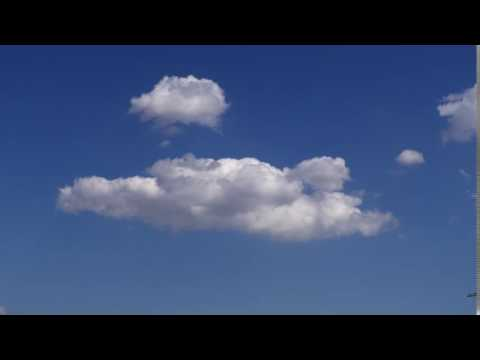 FREE FOOTAGE   Clouds & Blue Sky Time Lapse