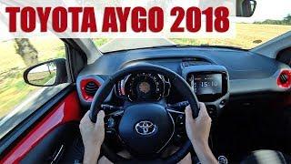 2018 Toyota Aygo 1.0 VVT-i, 4K POV TEST: Malé a milé auto!