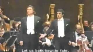Placido Domingo & Sherrill Milnes sing Invano Alvaro