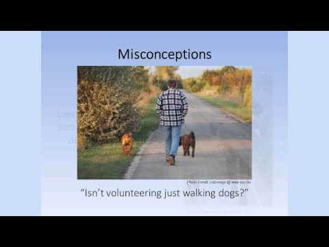 Dog Walking Training Video 1:  Understanding the Role of the Volunteer