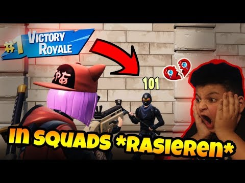 🔥In Fortnite Squads *rasieren* | Can Wick