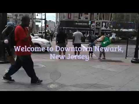 Welcome to Downtown Newark, New Jersey!!