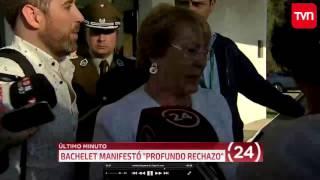 TVN - ÚLTIMO MINUTO (4) - Atentato contra presidente del directorio de Codelco