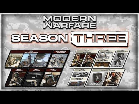 Modern Warfare: Season 3 Roadmap & Details