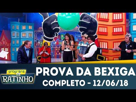 Prova Da Bexiga - Completo | Programa Do Ratinho (12/06/2018)