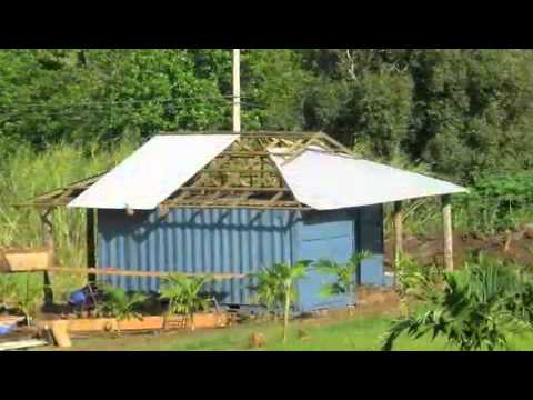 How to make a shipping container house on maui youtube for How to make a shipping container home