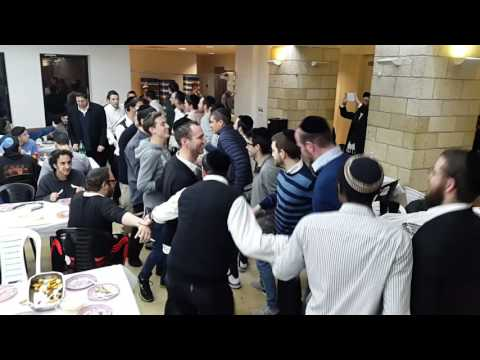 Purim Katan at Aish HaTorah in Jerusalem