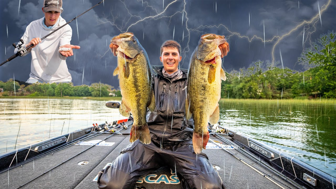My TOP Fishing Lure For During & After RAIN!! - YouTube