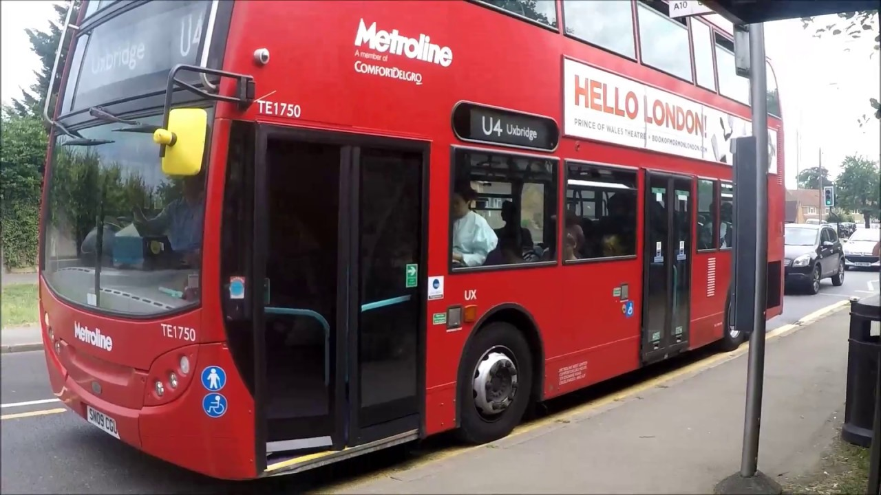 Route Learning Diversion Metroline Route U4 Hayes Carnival