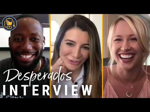 Netflix S Desperados Interviews Anna Camp Lamorne Morris And More Youtube