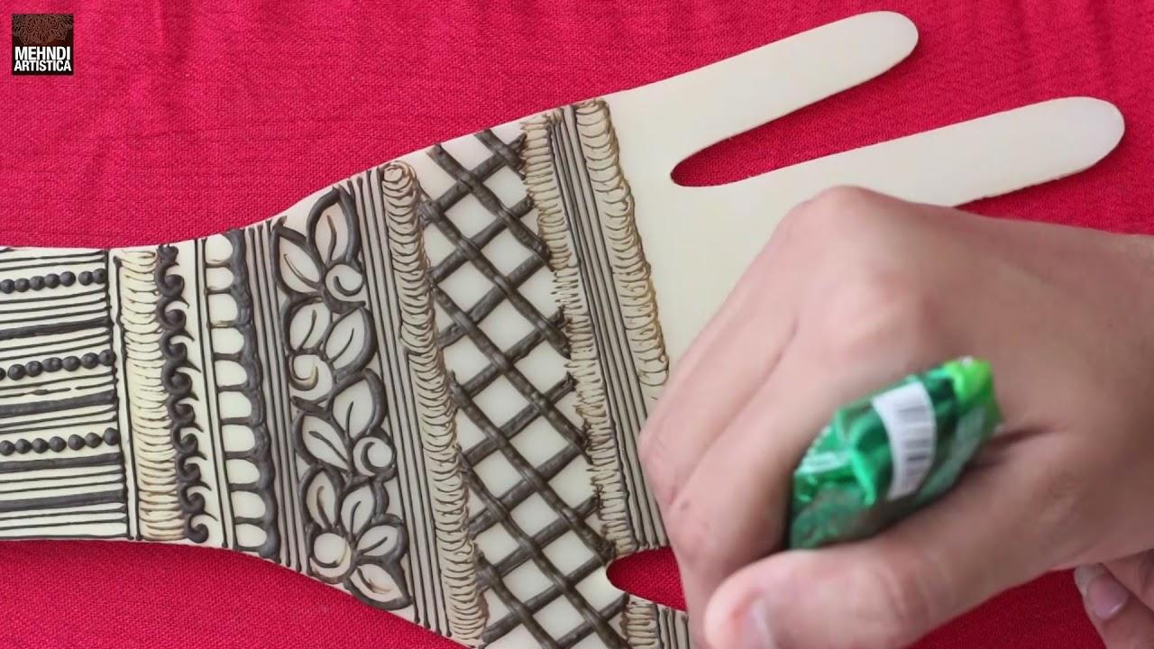 Indian henna mehendi design for hand   Mehandi Design for engagement 2021   Beautiful Mehndi Designs