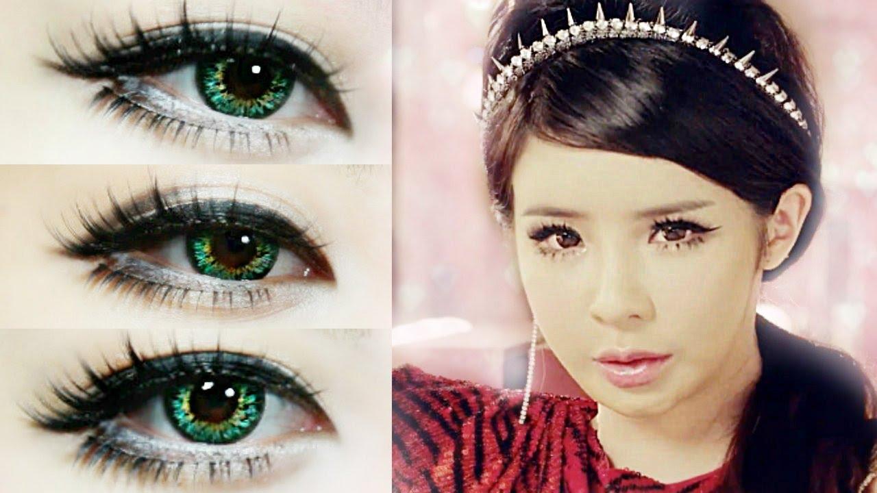 Park Bom Makeup Inspired Crush Japanese Ver 2ne1 Youtube