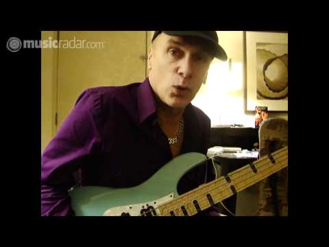 Billy Sheehan on his Yamaha Attitude Limited 3 bass