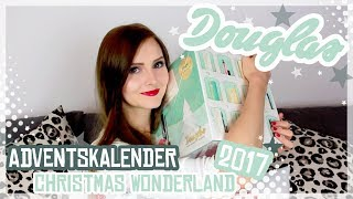 Douglas Adventskalender - Christmas Wonderland! - Unboxing 2017
