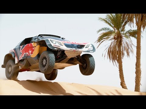 Team Peugeot Total testing their 3008DKR Maxi | Rally Dakar 2018