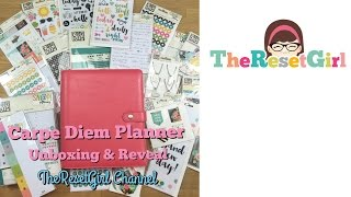 NEW Carpe Diem Planner Unboxing and Reveal