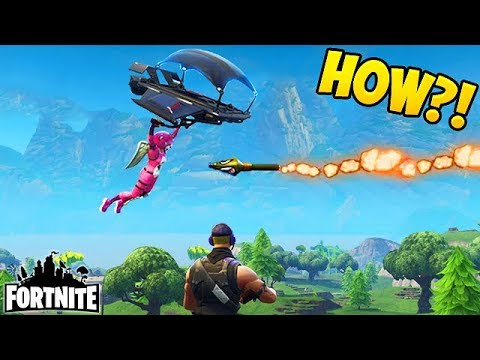 HIT WITH A ROCKET IN MID AIR! - Fortnite Funny Fails and WTF Moments! #131 (Daily Moments)