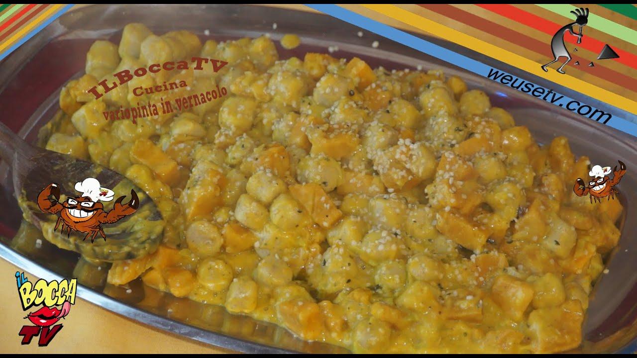 172 Gnocchi Con Zucca E Semi Di Canapa Decorticati In Un Botto L