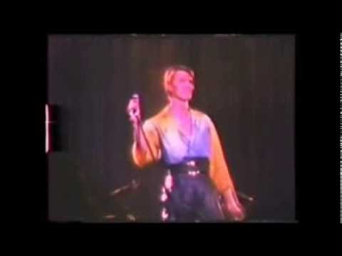 David Bowie - Breaking Glass live in Sweden 1978.