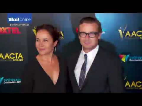 Simon Baker and Rebecca Rigg arrive at AACTA International ...