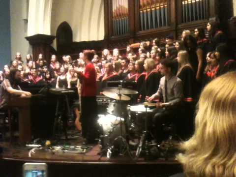 Maggie Live with High School Choir