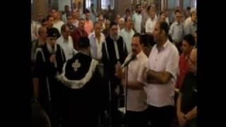 الجمعة العظيمة من كنيسة مارمرقس السول بقنا 14-4-2017