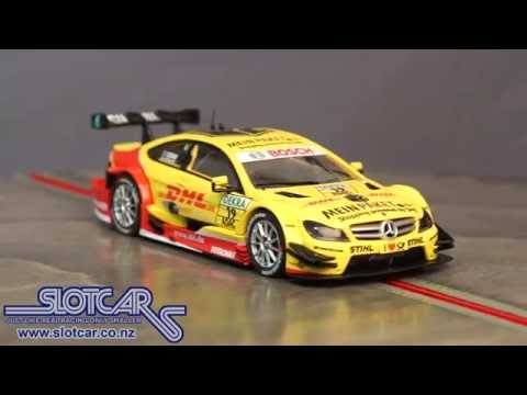 Carrera Slot Car Mercedes C Coupé Coulthard 19 2012 DTM Slotcar 27441