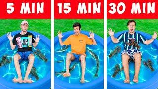 LA FIECARE 5 min SE ADAUGA UN OBIECT CHALLENGE !!