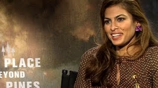 """Http://www.joblo.com - """"the place beyond the pines"""" eva mendes interviewthe pines is new movie from director of blue valentine. lu..."""