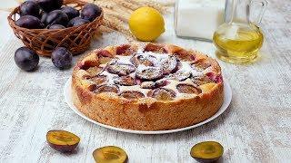 Как приготовить пирог со сливами - Рецепты от Со Вкусом
