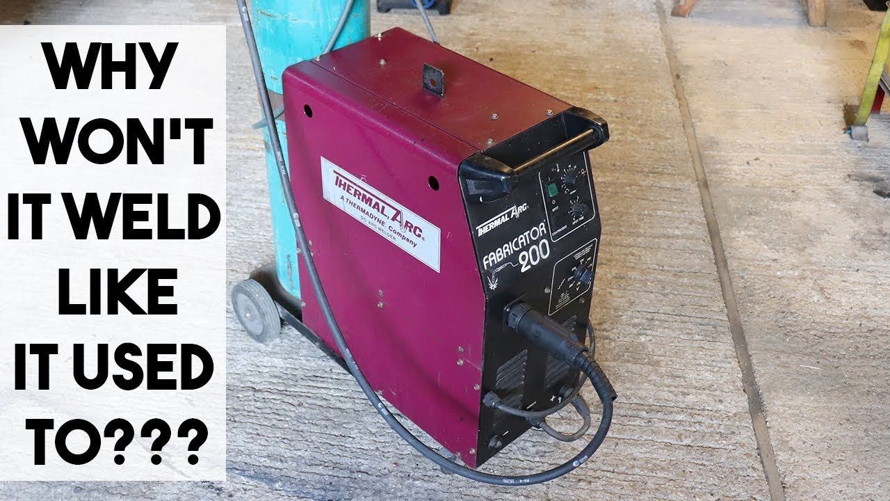 COMMON MIG WELDER FAULTS AND HOW TO FIX THEM - YouTube on