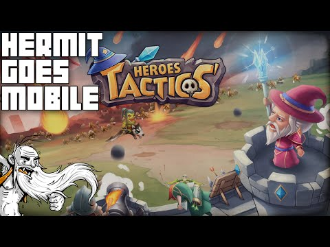 """TACTICAL MOBILE AWESOMENESS!!!"" Heroes Tactics Mythiventures iOS / Android 1080p HD walkthrough"