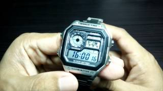 Gambar cover AE1200 WHD 'Casio Royale' Full Review. The best 25 bucks you can spend on a watch!