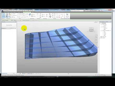 revit 3-3 Adaptive panels
