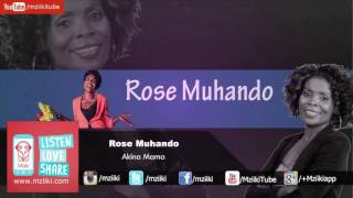 Song: Akina Mama | Artist: Rose Muhando Rose Muhando is a Gospel ar...