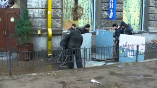 2013 2 декабря Революция Майдан Украина Киев, ул Грушевского